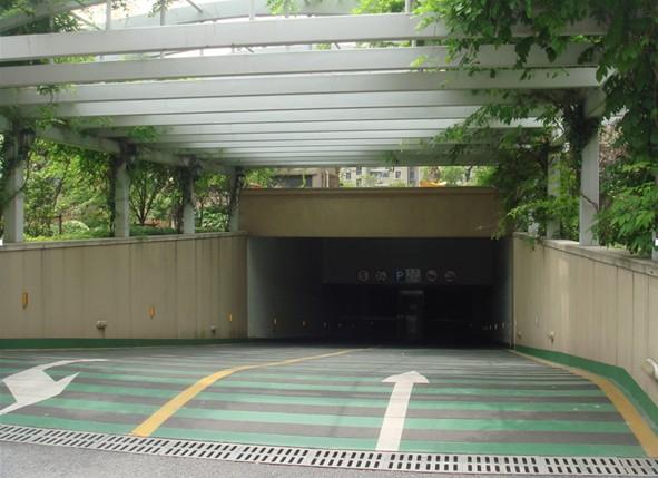 采光出入口的雨棚的建设