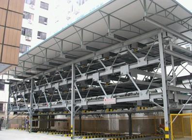 立体车库由单模块组合成类型