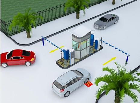 停车场智能系统与引导系统挡车杠