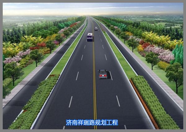 济南祥瑞路规划工程